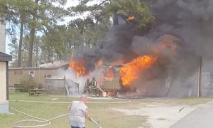 Working Structure Fire on Ham Street